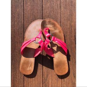 """Pink Lilly Pulitzer """"McKim"""" Flip Flop Sandals"""
